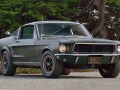 Ford Mustang из фильма «Буллит» уйдет с молотка