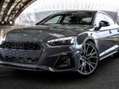 В Сети появилось видео с новым Audi A5 Sportback 2020 года