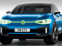 Volkswagen готовит к выходу «заряженный» электрокросс ID 4 GTX
