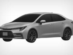 В России запатентовали Toyota Corolla с американским дизайном