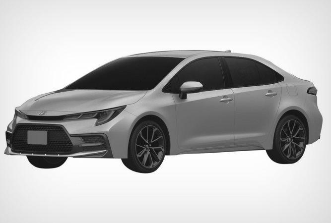 Toyota Corolla, американский дизайн