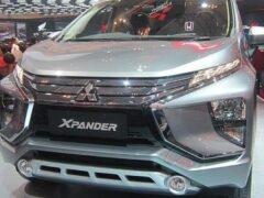 Mitsubishi обновил кросс-вэн Mitsubishi Xpander