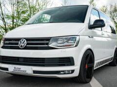 Показали модернизированный Volkswagen Multivan