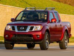 Пикап Nissan Frontier получил новый двигатель