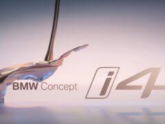 BMW анонсировала новый электрокар BMW i4