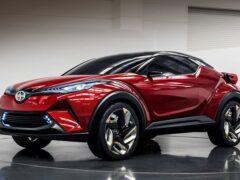Кроссовер Toyota C-HR может получить мотор от «горячего» GR Yaris