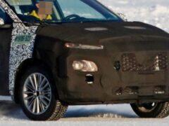 Обновленный Hyundai Kona впервые замечен на тестах