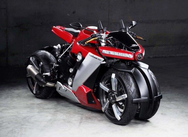 Lazareth LM 410, четырехколесный мотоцикл