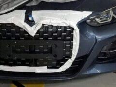 Новый BMW 4-Series получит огромную решетку радиатора