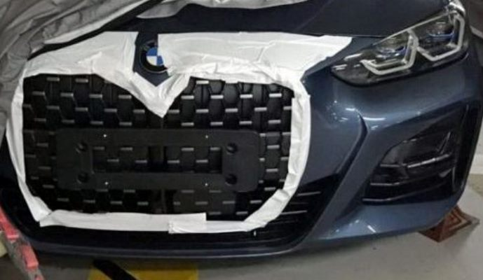 BMW 4-Series, огромная решетка
