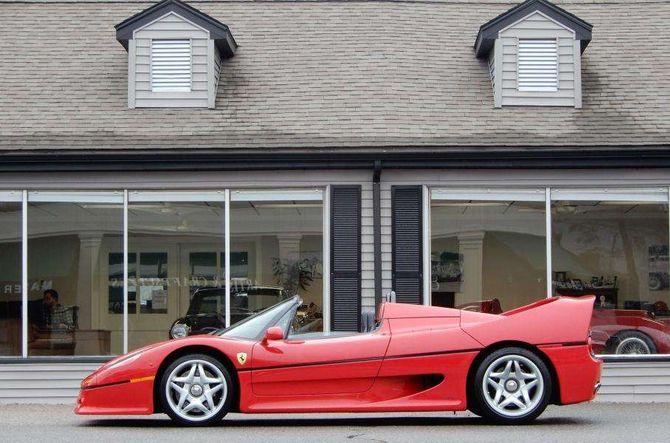 Ferrari F50 1995 года