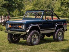 Классическому Ford Bronco подарили двигатель V8