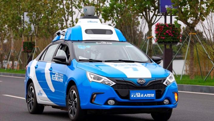 Baidu, беспилотный автомобиль