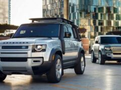 Опубликованы цены на новые Land Rover Defender 90 и 110