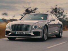 Новый Bentley Flying Spur получил бесформенный руль