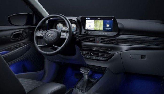 Hyundai i20, салон