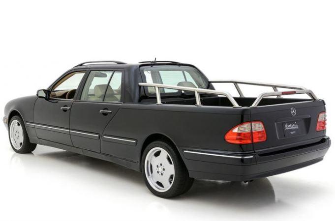пикап на базе Mercedes