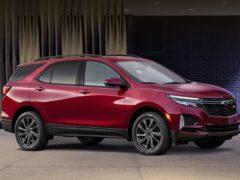 Chevrolet представил свой обновленный паркетник Equinox