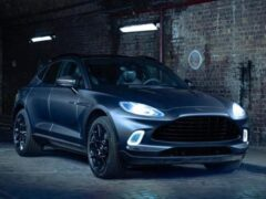 Кроссовер Aston Martin DBX получит спецверсию Q
