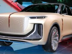 Электрический Hongqi E115 от экс-дизайнера Rolls Royce готов к дебюту