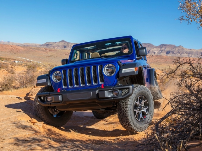 Jeep Wrangler, трехдверный