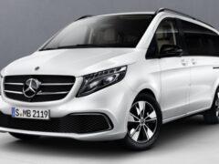 Mercedes-Benz V-класса можно приобрести с новым пакетом доработок
