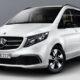 Mercedes-Benz V-Class получил версию с пневмоподвеской Airmatic