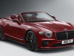 Bentley готовит люксовый кабриолет Continental GT Mulliner