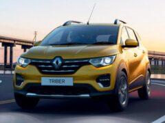 Бюджетный кроссовер Renault Triber получил новую версию