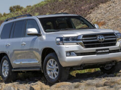 Toyota Land Cruiser получил спецверсию Sahara Horizon