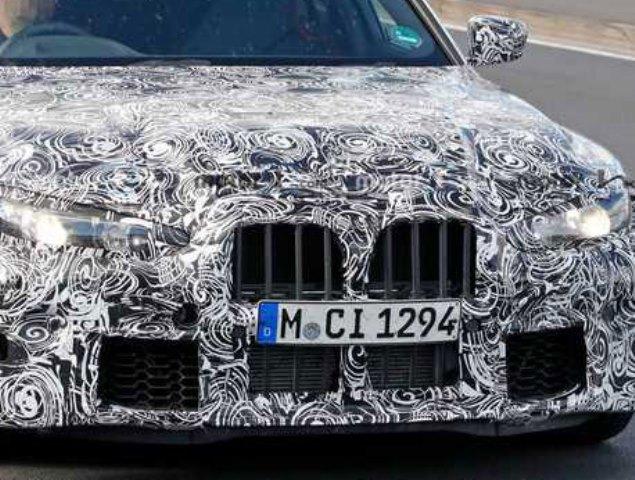 BMW M3 2021 года