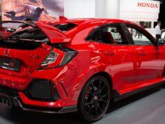 Новый Honda Civic Type R получит три мотора и полный привод