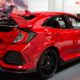 Honda подвергла рестайлингу Civic Type R