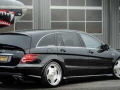 Уникальный 700-сильный микроавтобус Mercedes-Benz R63 AMG