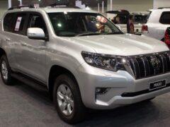 Toyota Land Cruiser Prado стал самым популярным импортным авто в РФ