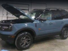 Кроссовер Ford Bronco Sport получает новые турбомоторы