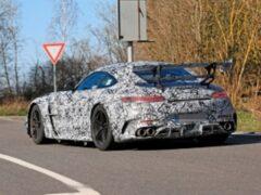 Mercedes-AMG GT Black Series получил огромное антикрыло