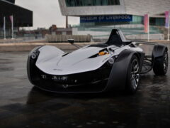 Представили новый одноместный спорткар BAC Mono