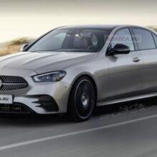 Появились первые рендеры нового Mercedes-Benz C-класса W206