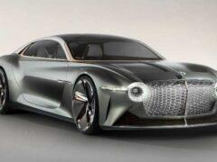 Электрокар Bentley получит «смелый» стиль