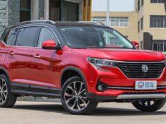 Стартовали продажи обновленного Dongfeng T5 — копии Renault Koleos
