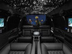 Новый роскошный Cadillac Escalade превратили в мобильный офис