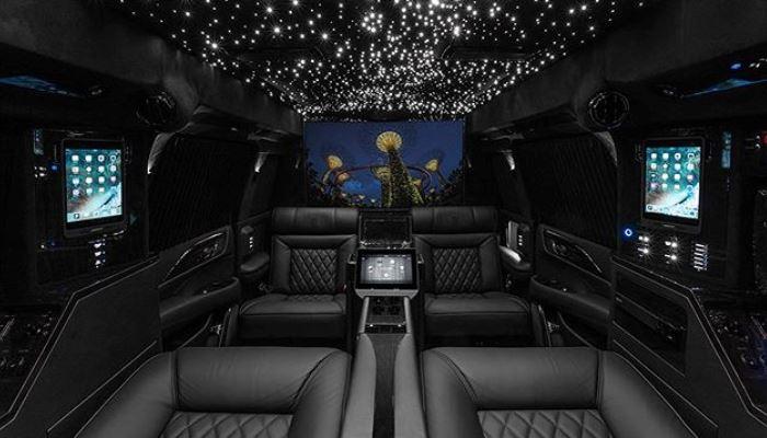 Cadillac Escalade, мобильный офис