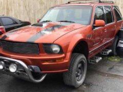 Ford Explorer примерил внешность Mustang