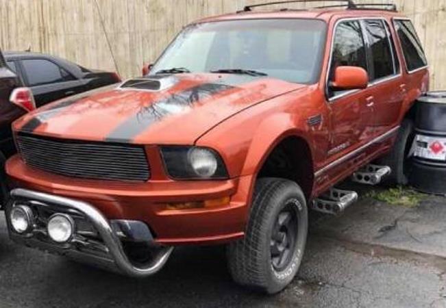 Ford Explorer, внешность Mustang