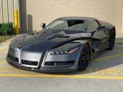Спорткар Vetter Slash от создателя машины Джокера продается на eBay