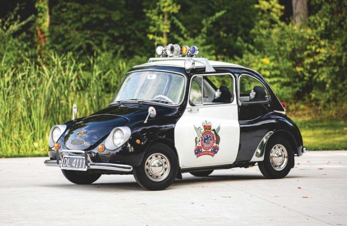 Subaru 360, полицейский