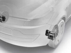 ZF показал первый в мире автомобильный передний электроручник
