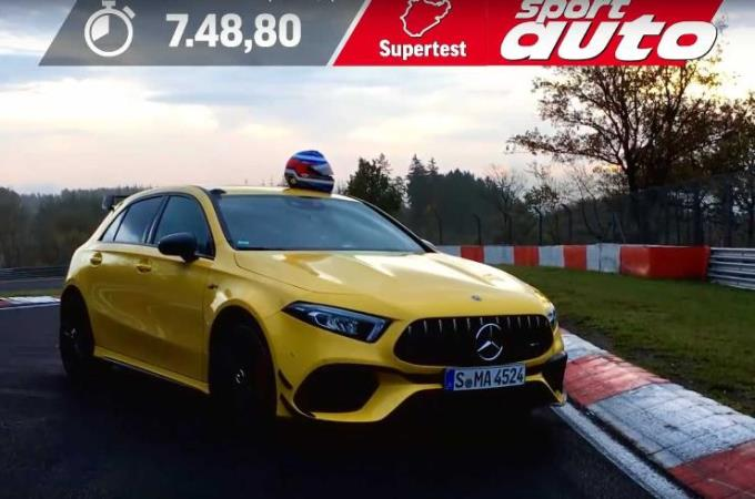 Mercedes-AMG A45S, тюнинг