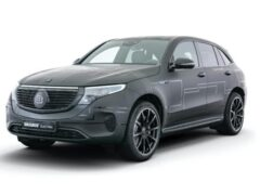 Ателье Brabus добавило мощности электрокару Mercedes-Benz EQC